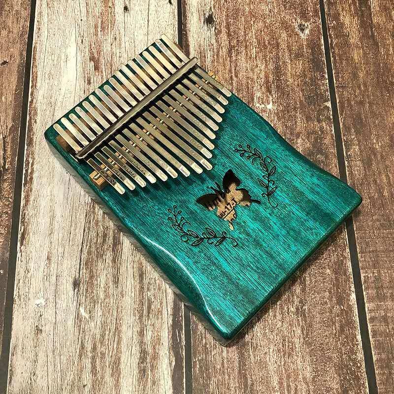 Piano Karimba 17 ngón tay đàn Karimba chất lượng cao (Kèm dây cắm)