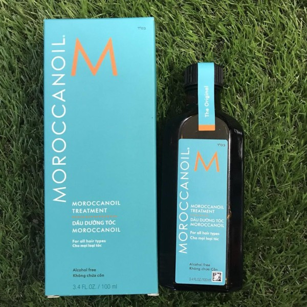 Combo Tinh dầu Moroccanoil dưỡng phục hồi tóc 100ml và gội xả Moroccanoil dưỡng ẩm 70mlx2 giá rẻ