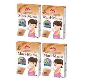 Combo 4 hộp Sữa bầu Morinaga Mori-Mama dành cho phụ nữ thời kỳ mang thai và cho con bú 200gr- hương socola date T7.2021 thumbnail