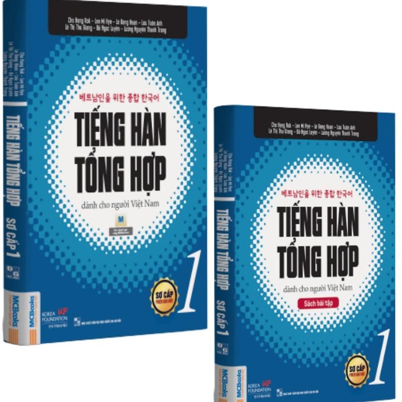 Mua Combo Sách Tiếng hàn tổng hợp dành cho người Việt Nam - Sơ cấp 1 (Phiên bản 1 màu)
