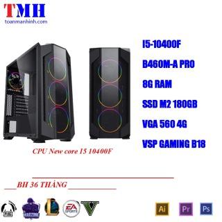 máy tính i5 10400f chiến tốt game ,render,đồ hòa,video. thumbnail