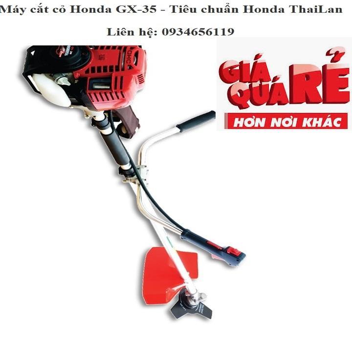 Máy làm cỏ Honda GX-35, may lam co tiêu chuẩn Honda Thai Lan, uy tín chất lượng, bảo hành dài lâu