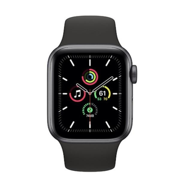 (VN/A) Đồng hồ thông minh Apple Watch SE 40mm 44mm (GPS) viền nhôm - Dây cao su