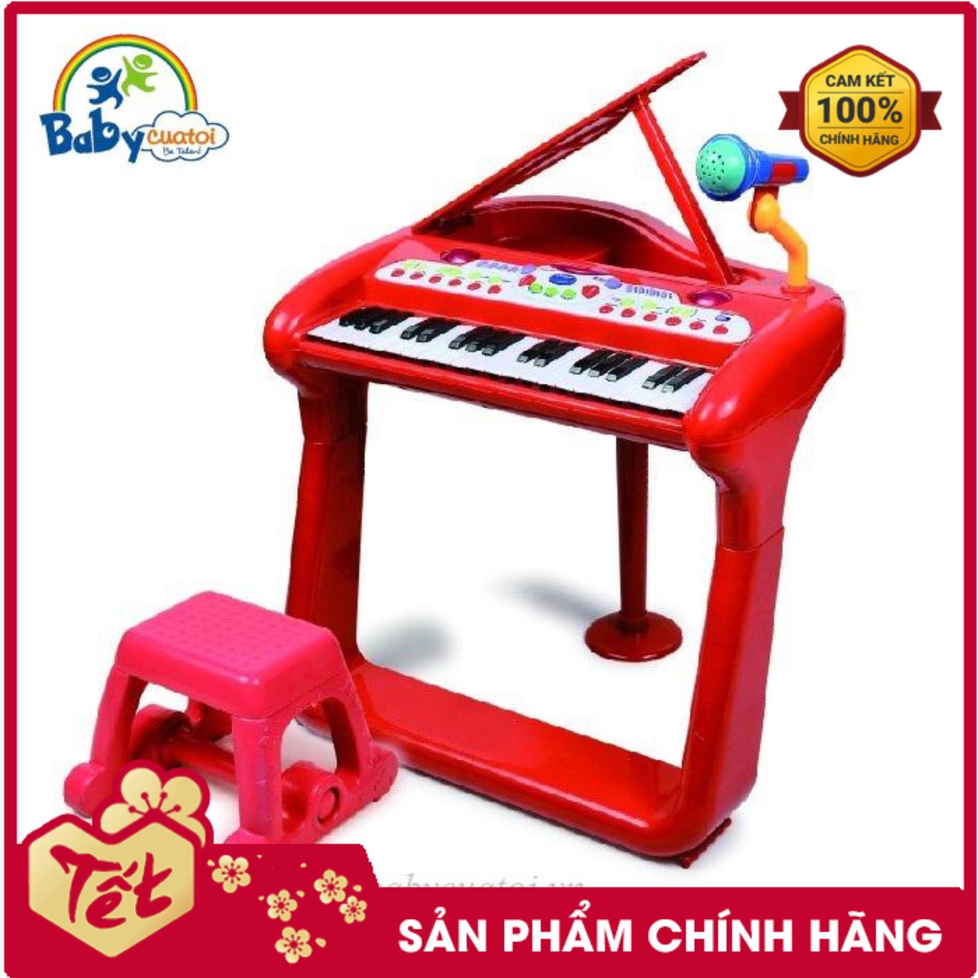 Đồ chơi âm nhạc đàn piano BBT Global - nhựa nguyên sinh an toàn cho bé trai bé gái - đồ chơi trẻ em đồ chơi vận động phát triển sáng tạo BB375