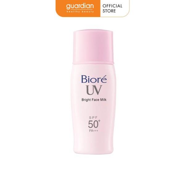 Sữa chống nắng Biore sáng hồng tự nhiên SPF50+/PA+++ 30ml