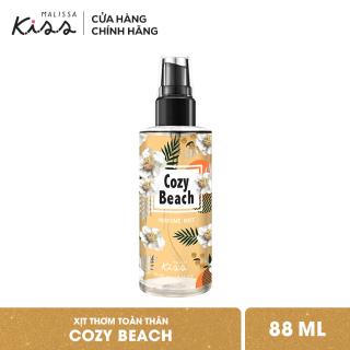 Xịt Thơm Toàn Thân Hương Nước Hoa Malissa Kiss - Hương Cozy Beach 88ml thumbnail