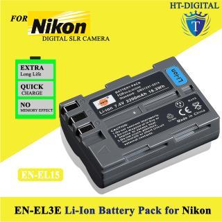 Pin Nikon EN-EL3E 2100mAh cho Nikon D70 D70s D80 D90 D200 D300 D700 thumbnail