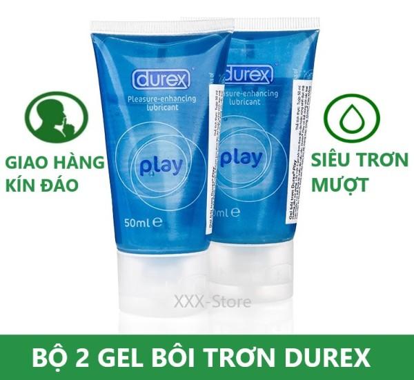 Combo 2 chai Gel bôi trơn Durexx thái lan play 50ml giá rẻ