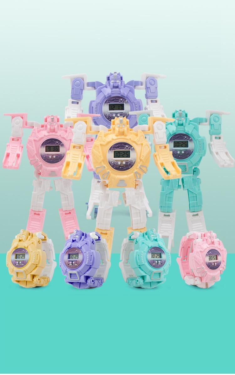 Nơi bán Đồng hồ robot biến hình cho bé fullbox