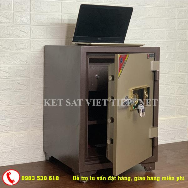 [CHINH HANG] Két sắt vân tay Việt Tiệp cao cấp V168-110kg