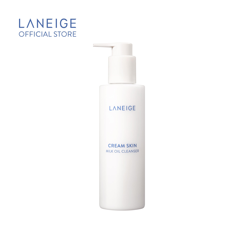 Dầu Tẩy Trang Dạng Sữa Laneige Cream Skin Milk Oil Cleanser 200Ml