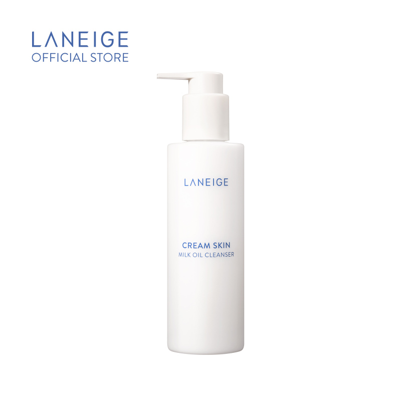 Dầu tẩy trang dạng sữa LANEIGE Cream Skin Milk Oil Cleanser 200ml cao cấp