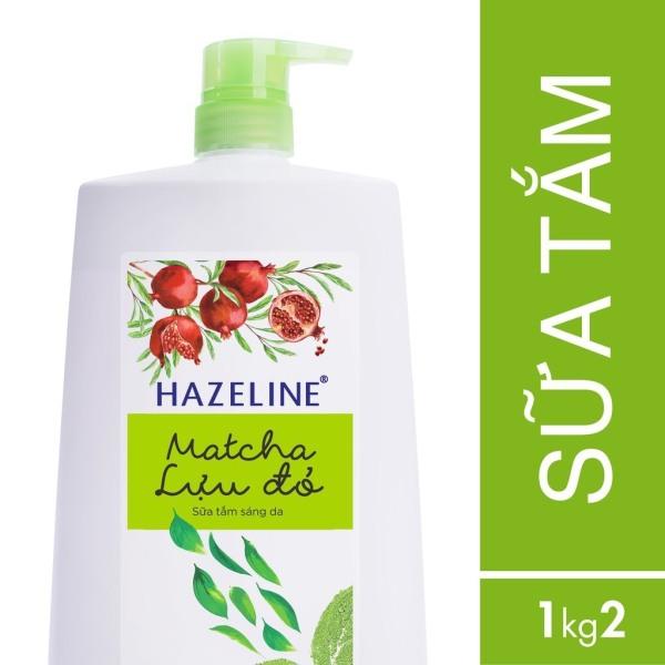 Sữa tắm Hazeline Lựu & Matcha (Xanh) Chai 1.2Kg giá rẻ
