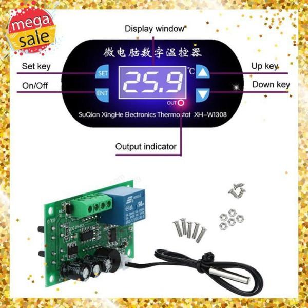 Mạch điều khiển bật tắt thiết bị bằng cảm biến nhiệt độ XH-W1308