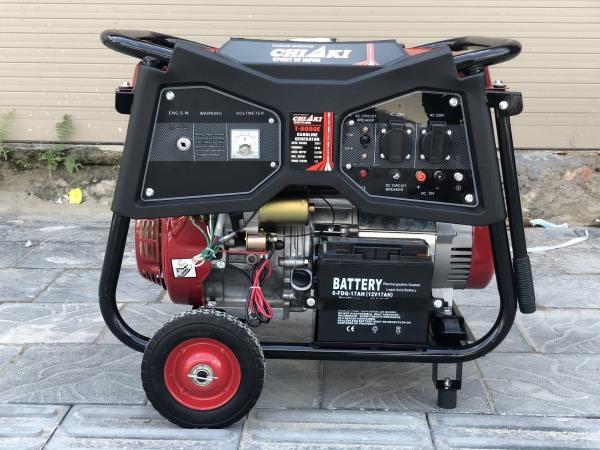 Máy phát điện 5kw chạy xăng Chiaki H9000E - Máy phát điện gia đình tại Phú thọ
