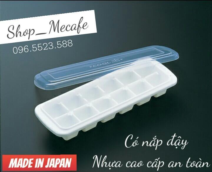 01 Khay đá 12 viên có nắp đậy - hàng Nhật nhập khẩu