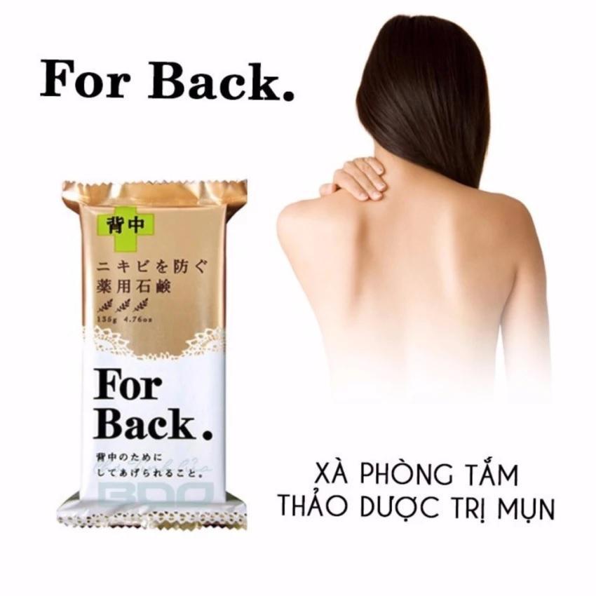 Xà phòng trị mụn lưng, mông for back hàng Nội địa Nhật bản tốt nhất