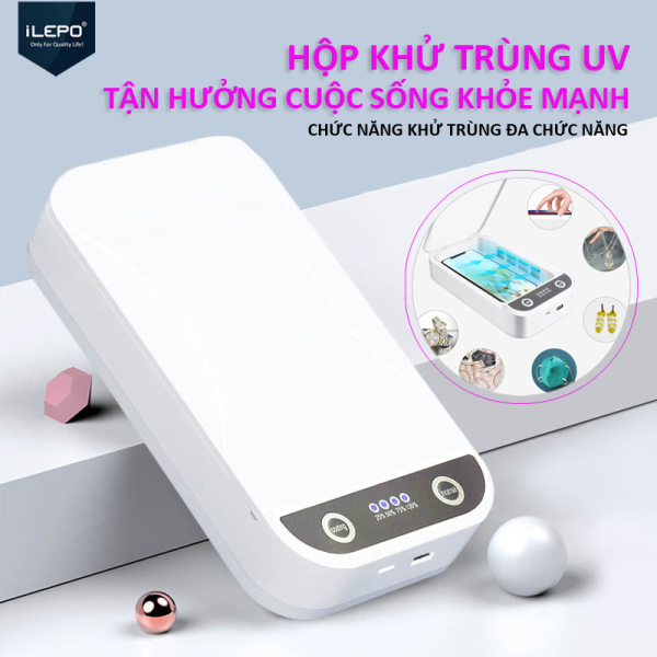 Hộp khử trùng UV Thông minh, được thiết kế để khử trùng đồ trang sức điện thoại di động và đồng hồ