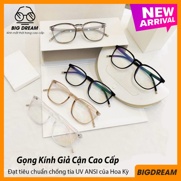 Giá bán Mắt kính giả cận cao cấp gọng dẻo dành cho cả nam và nữ BDCK6178 - Gọng kính cận không độ Hàn Quốc - Bảo hành 12 tháng - Tặng kèm hộp + Khăn Lau