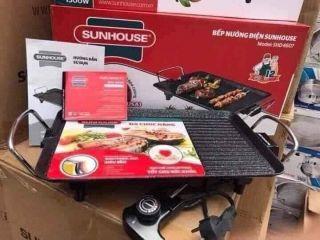 Bếp nướng điện SUNHOUSE SHD4607. Công xuất 1500W. Bảo hành 12 tháng. Lỗi 1 đổi 1 trong vòng 7 ngày thumbnail