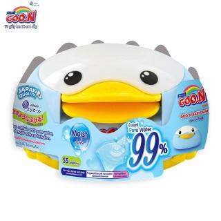 Hộp khăn ướt Goo.N con vịt 55 miếng, mềm mại, an toàn tuyệt đối cho da date (Clearance sale) thumbnail