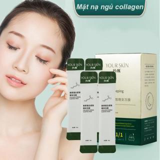 [10 gói] Mặt nạ ngủ collagen YOUR SKIN chống lão hóa & dưỡng sáng da mặt nạ ngủ dưỡng ẩm mặt nạ ngủ dạng gel mặt nạ nội địa Trung TK-MN302 thumbnail