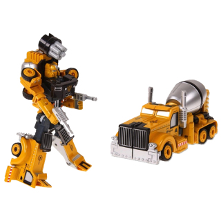 Xe Xây Dựng Biến hình ROBOT Trans Truck Bằng Sắt thumbnail