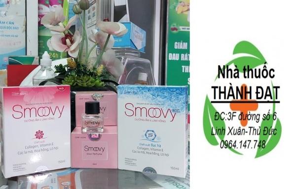 Smoovy dung dịch vệ sinh phụ nữ , nước hoa vùng  kín smovy