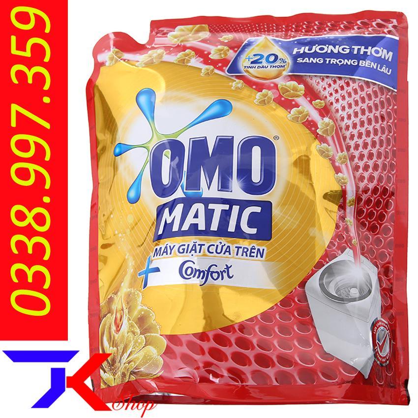 Mã Coupon Nước Giặt OMO Matic Comfort Tinh Dầu Thơm Túi 2.4kg
