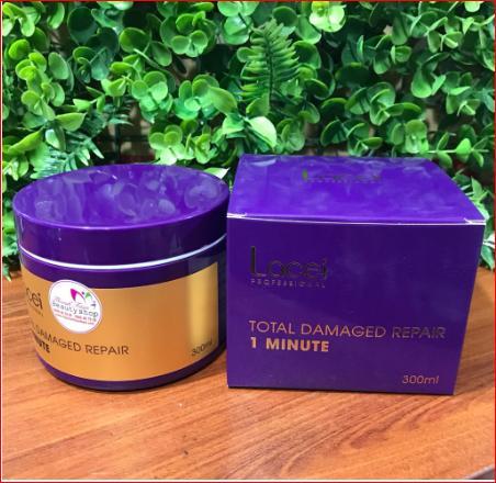 Kem ủ tóc phục hồi 1 phút LACEI Total Damaged Repair 1 Minute 300ml giá rẻ
