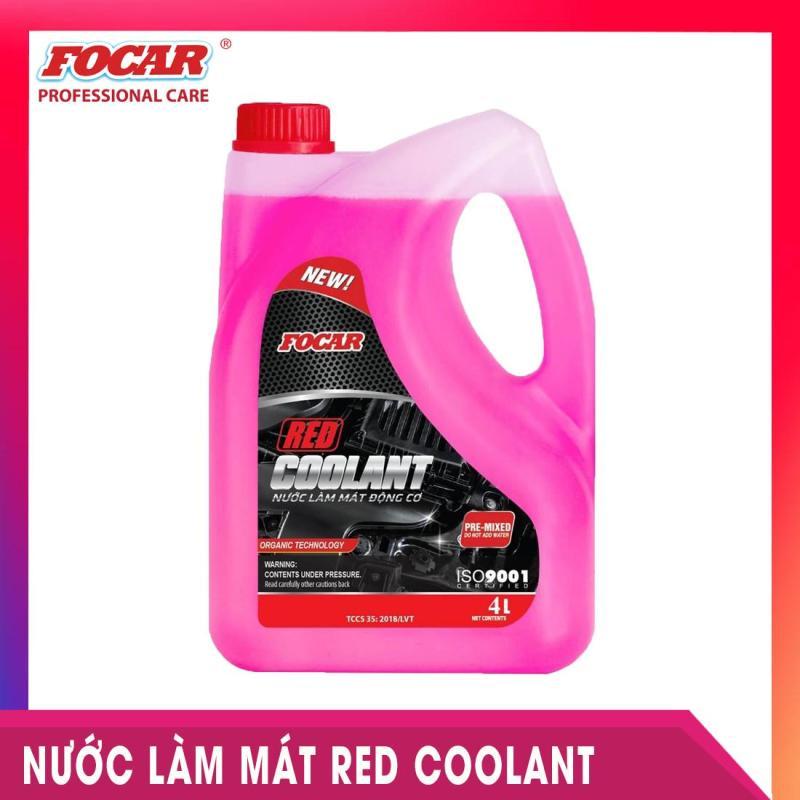 Nước làm mát màu đỏ Focar Red Coolant 4L - Công nghệ OAT