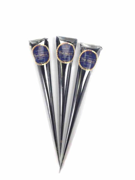 Combo 3 tuýp mực xăm 1 tháng The Jagua tặng 4 Tấm khuôn xăm A4 tạm thời dùng được cho cả mực Henna và Inkbox