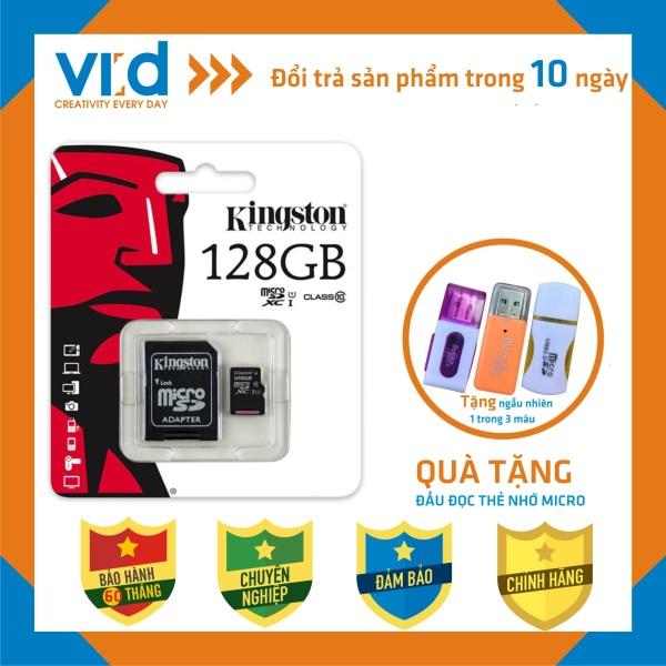 [QUÀ TẶNG] Thẻ Nhớ KINGTON MICRO SDHC 128GB, 64GB, 32GB - Bảo hành 5 năm