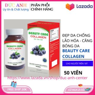 Viên uống đẹp da Beauty Care Collagen giúp da tắng hồng giảm nám tàn nhang hộp 50 viên HSD 2023 1