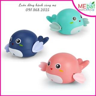 Đồ Chơi Thả Bồn Tắm Cá Heo Con Bơi Văn Cót Dễ Thương Cho Bé Yêu, MEBAF thumbnail