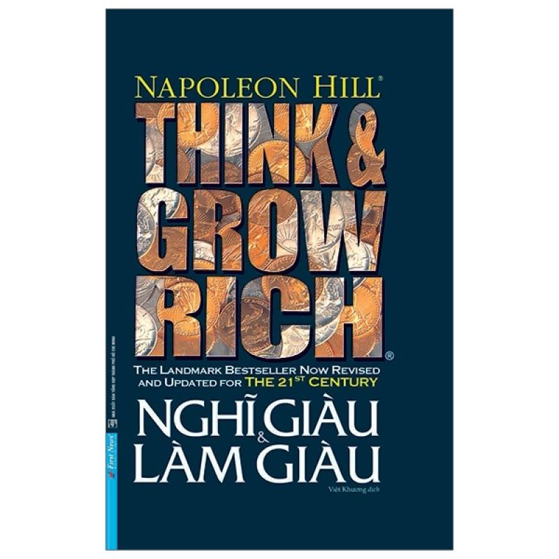 Fahasa - Think And Grow Rich - Nghĩ Giàu Và Làm Giàu (Phiên Bản Đặc Biệt Bìa Cứng)