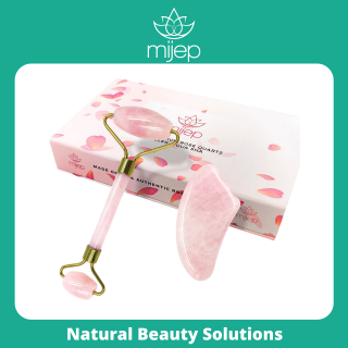 Con lăn massage cho da mặt được làm từ đá thạch anh hồng & Gua SHA - INTL thumbnail