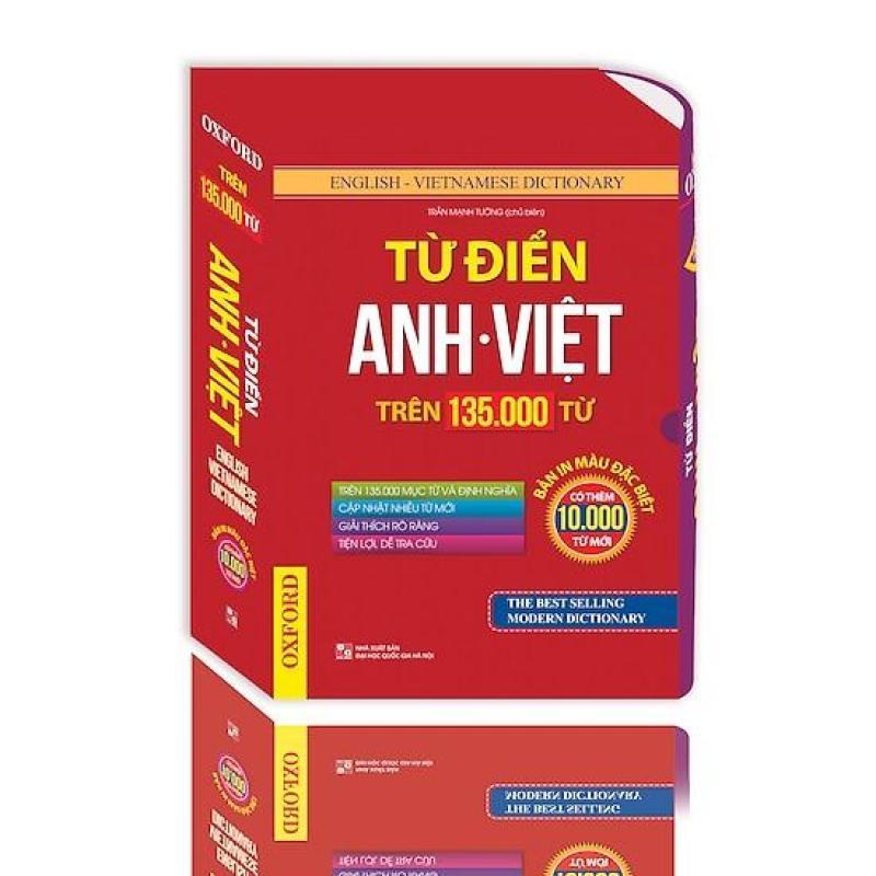 Mua Từ Điển Anh Việt Trên 135.000 Từ (Hộp Bao)