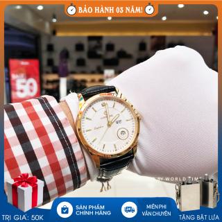 Đồng hồ Nam Sunrise DM784SWA B Full hộp , Thẻ bảo hành 3 năm , Kính Sapphire chống xước , chống nước thumbnail