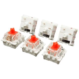 10Pcs Plastic For Cherry Red 3 Pin MX RGB Mechanical Switch Keyboard Replacement thumbnail