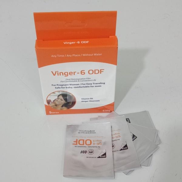 Miếng ngậm giảm ốm nghén Vinger 6 hết nghén, ăn ngon, cho con đủ chất ( hộp 5 miếng)