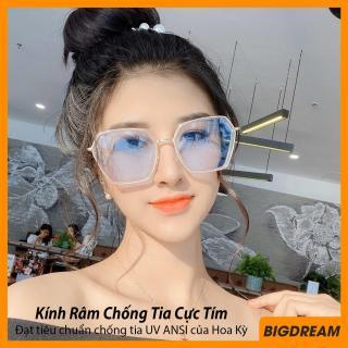 Mắt kính thời trang nữ chống tia UV cao cấp BD1125 - Kính mát kiểu dáng lục giác sang chảnh, kiểu dáng độc đáo - Bảo hành 12 tháng 1 đổi 1 thumbnail