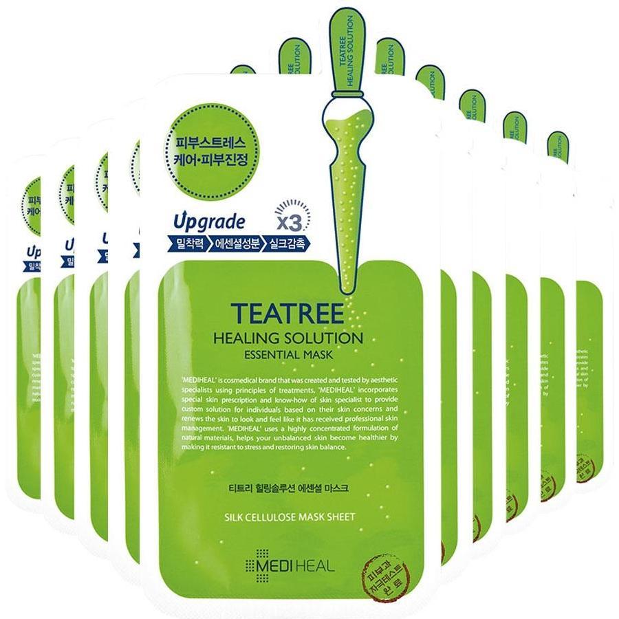 Hộp 10 Mặt nạ Mediheal Trà xanh TeaTree Hàn Quốc nhập khẩu