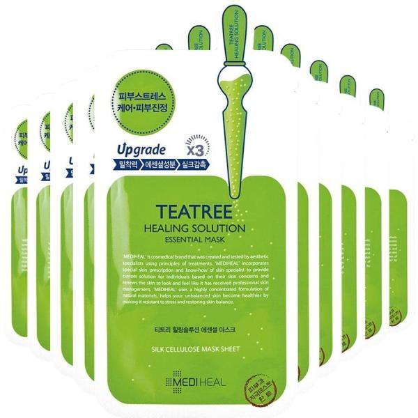 Hộp 10 Mặt nạ Mediheal Trà xanh TeaTree Hàn Quốc tốt nhất