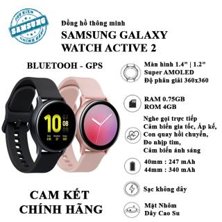 Đồng hồ thông minh Samsung Galaxy Watch Active 2 ( Bản nhôm Dây Silicon ) thumbnail
