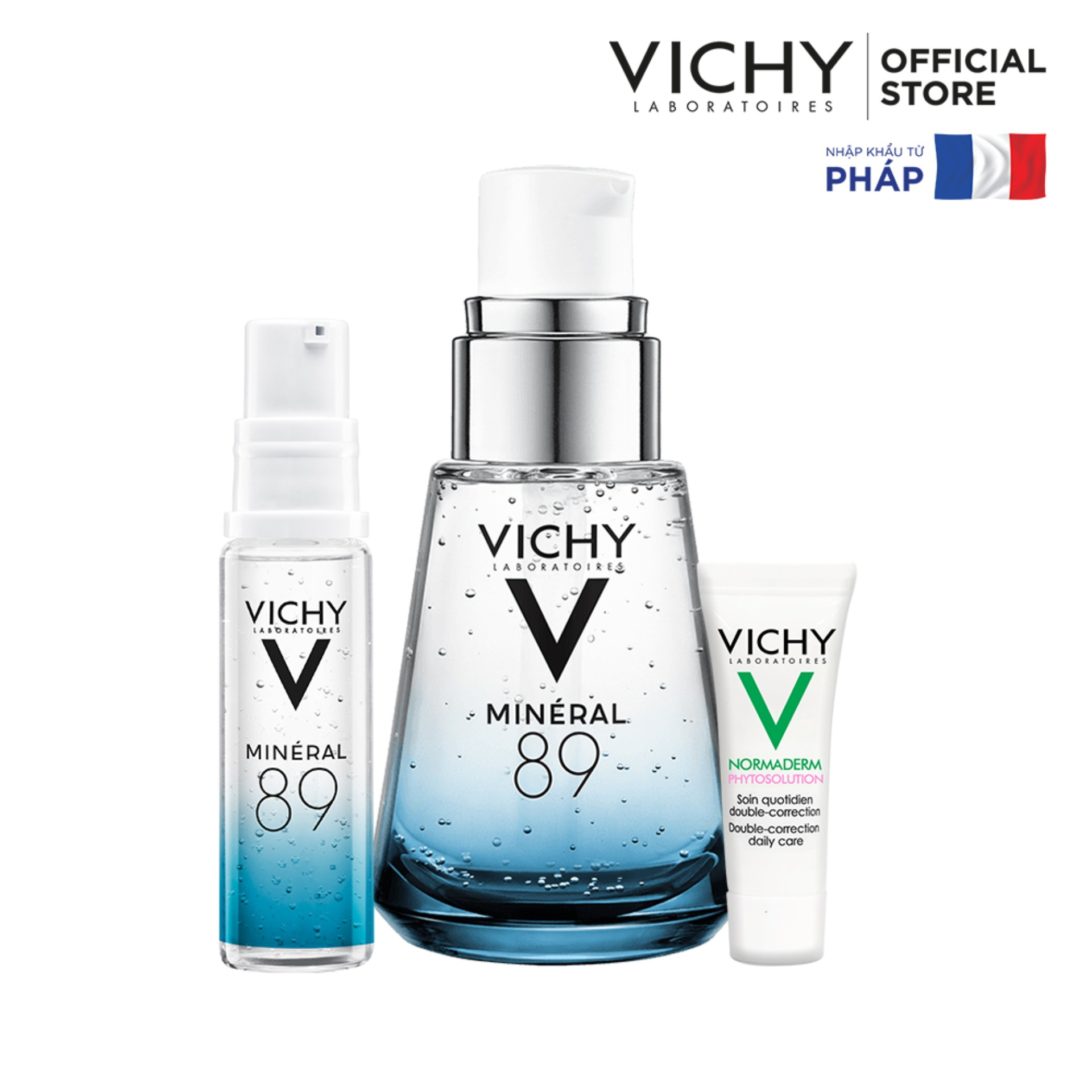 Lazada Ưu Đãi Khi Mua Bộ Dưỡng Chất (Serum) Khoáng Núi Lửa Cô đặc Vichy Mineral 89 Giúp Da Sáng Mịn Và Căng Mượt