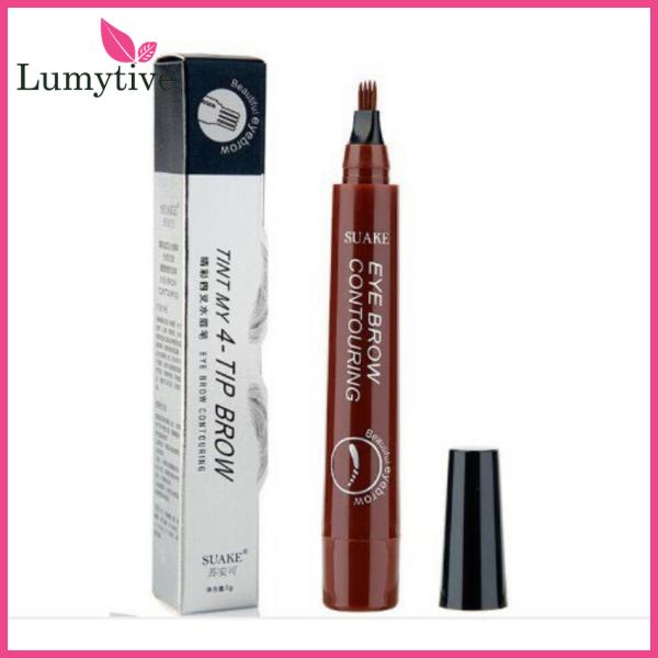 [YÊU THÍCH] Bút chì kẻ lông mày phẩy sợi 4D chống nước lâu trôi dụng cụ trang điểm makeup chuyên nghiệp - Lumytive giá rẻ