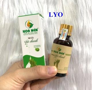 Tinh dầu Sả Chanh NGUYÊN CHẤT Hoa Nén 30ml thumbnail