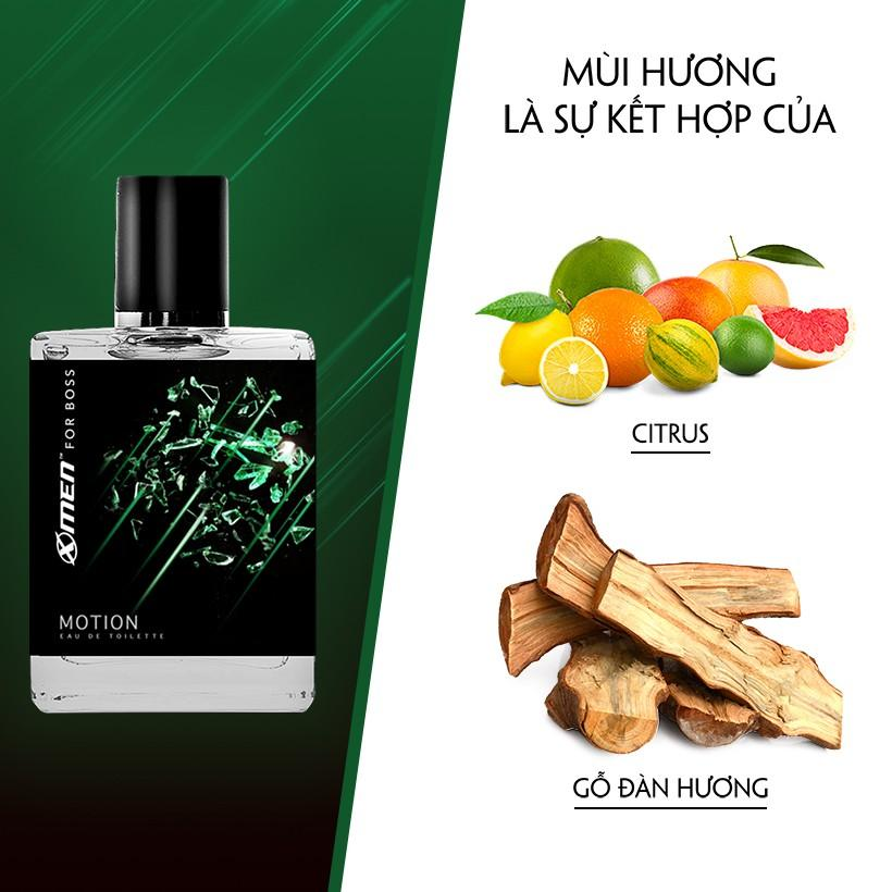 Nước hoa EDT X-Men for Boss Motion 49ml