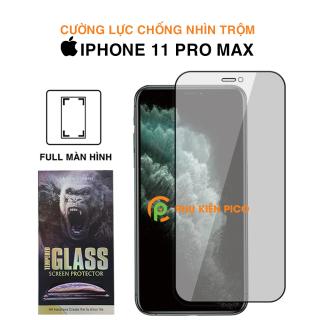 Kính cường lực Iphone 11 Pro Max full màn hình chống nhìn trộm KingKong Dán màn hình Iphone 11 Pro Max thumbnail